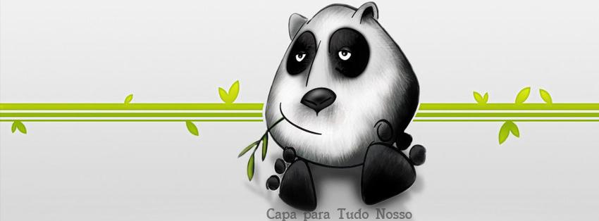 Capa para Facebook -Panda- Tudo Nosso