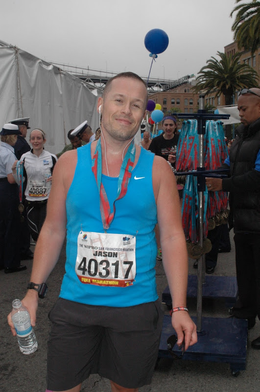 After San Francisco Marathon