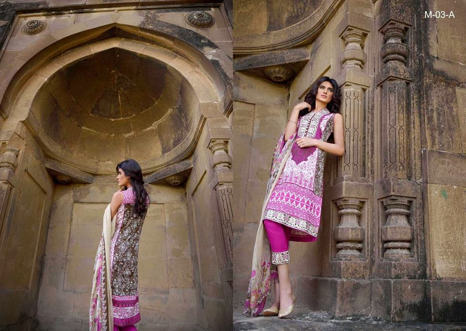 Mehdi Lawn Collection 2015 Vol-1