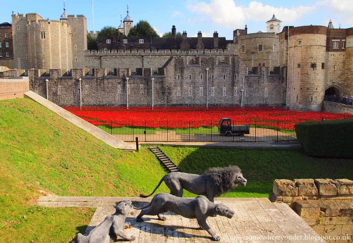 Somewhere Yonder Tower Of London Remembers With Poppies - Tower of london river of poppies