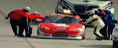 Kurt Busch 51 Phoenix Racing Talladega wreck 2012