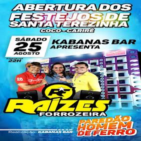 ABERTURA DOS FESTEJOS DE SANTA TEREZINHA