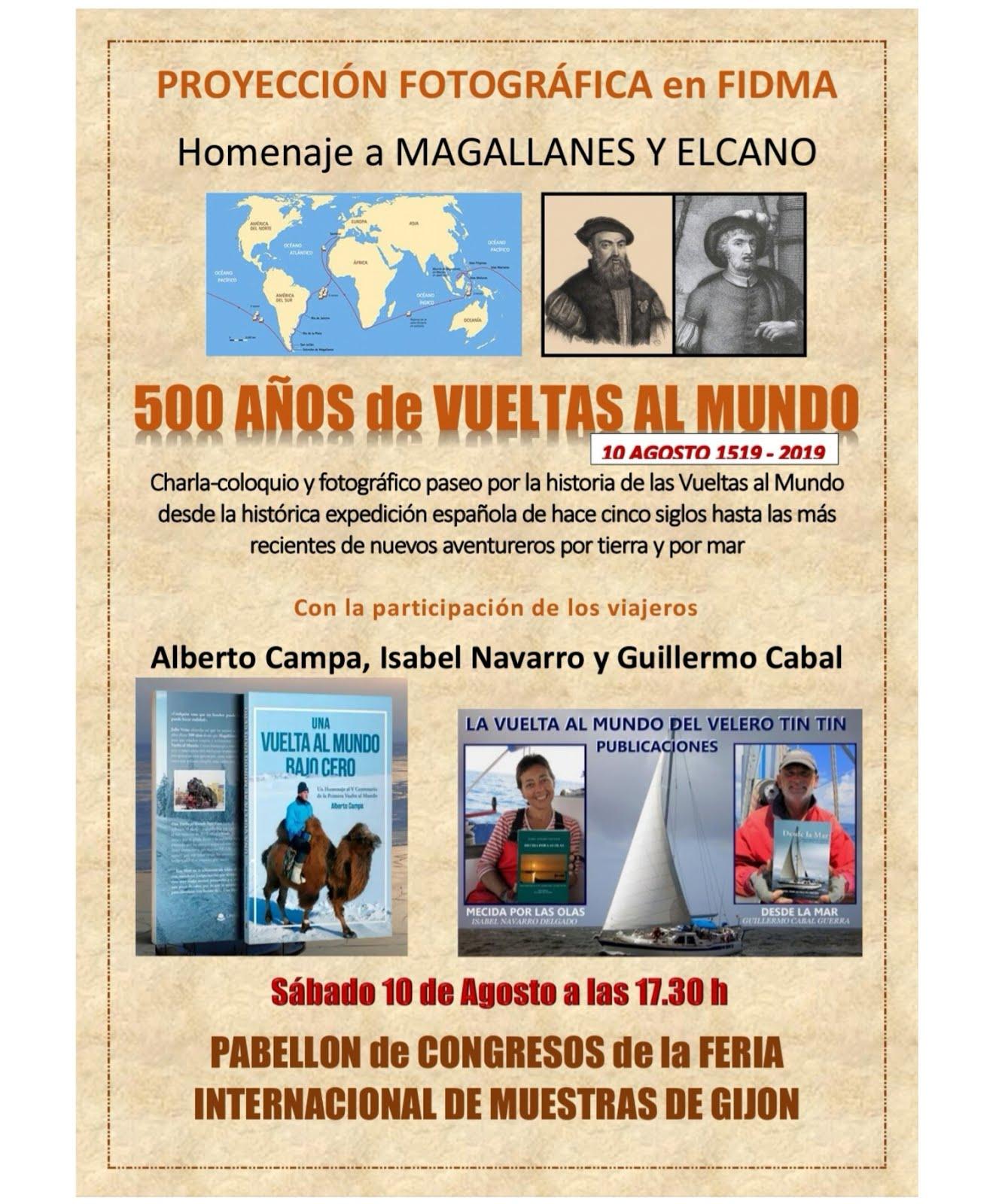 500 AÑOS DE VUELTAS AL MUNDO