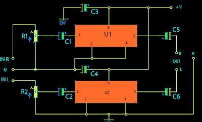 BA5386 amplifier