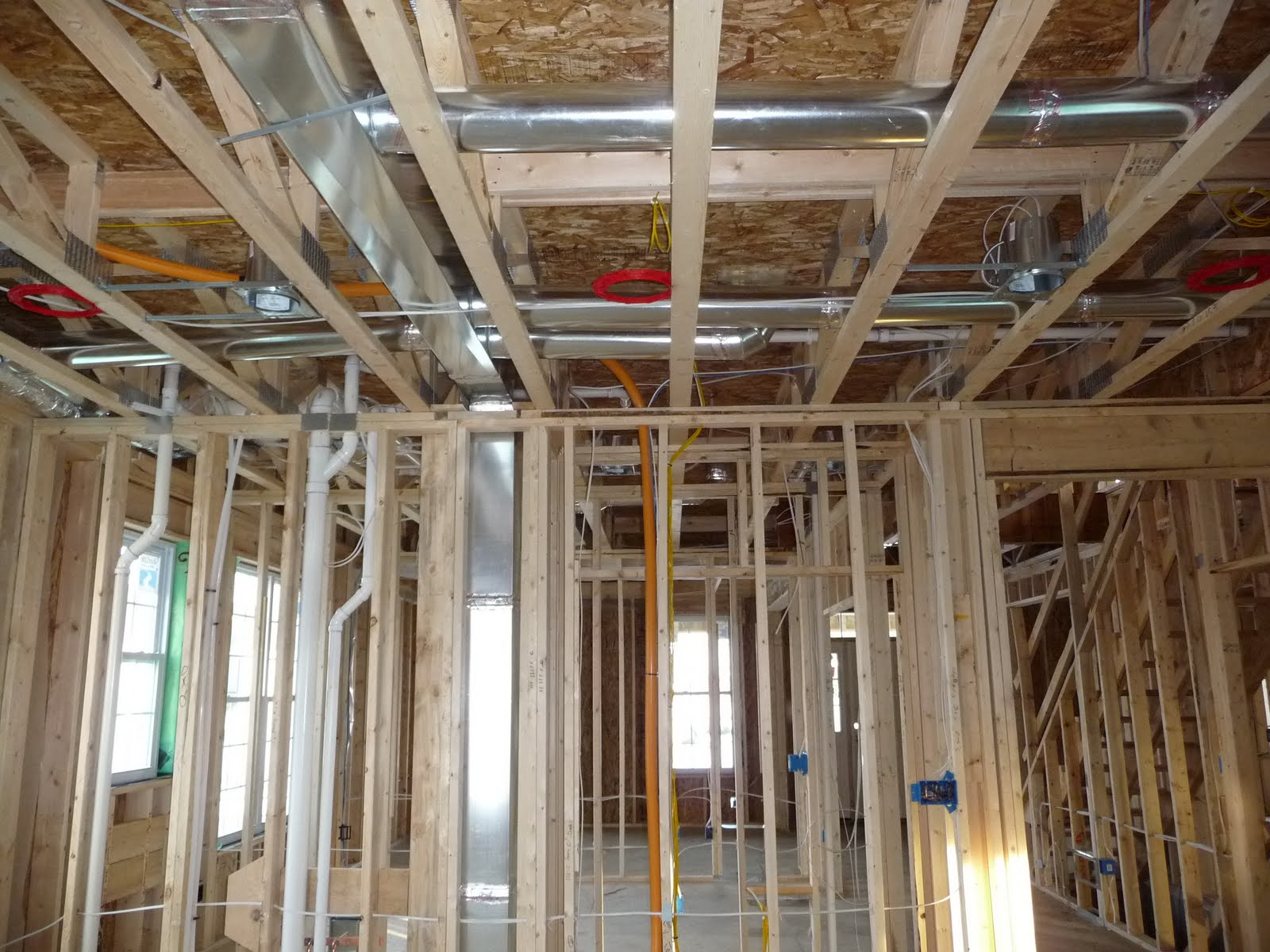 to Maple Grove Minnesota: Electrical Plumbing and HVAC almost done #A46727