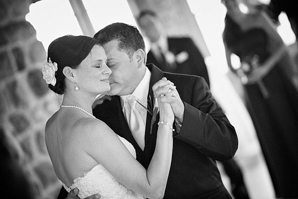 Narragansett Towers Wedding: Bride and Groom Dance