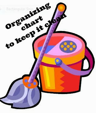 Organize house cleaning chores