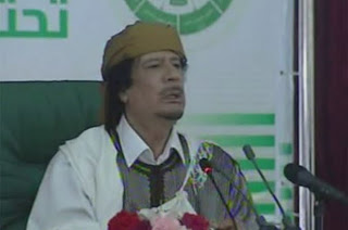 gaddafi speach