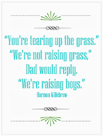 We're Raising Boys {Printable}
