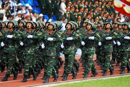 Sẽ diễu binh nhân ngày thống nhất