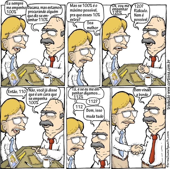 Negociação nonsense na entrevista de emprego