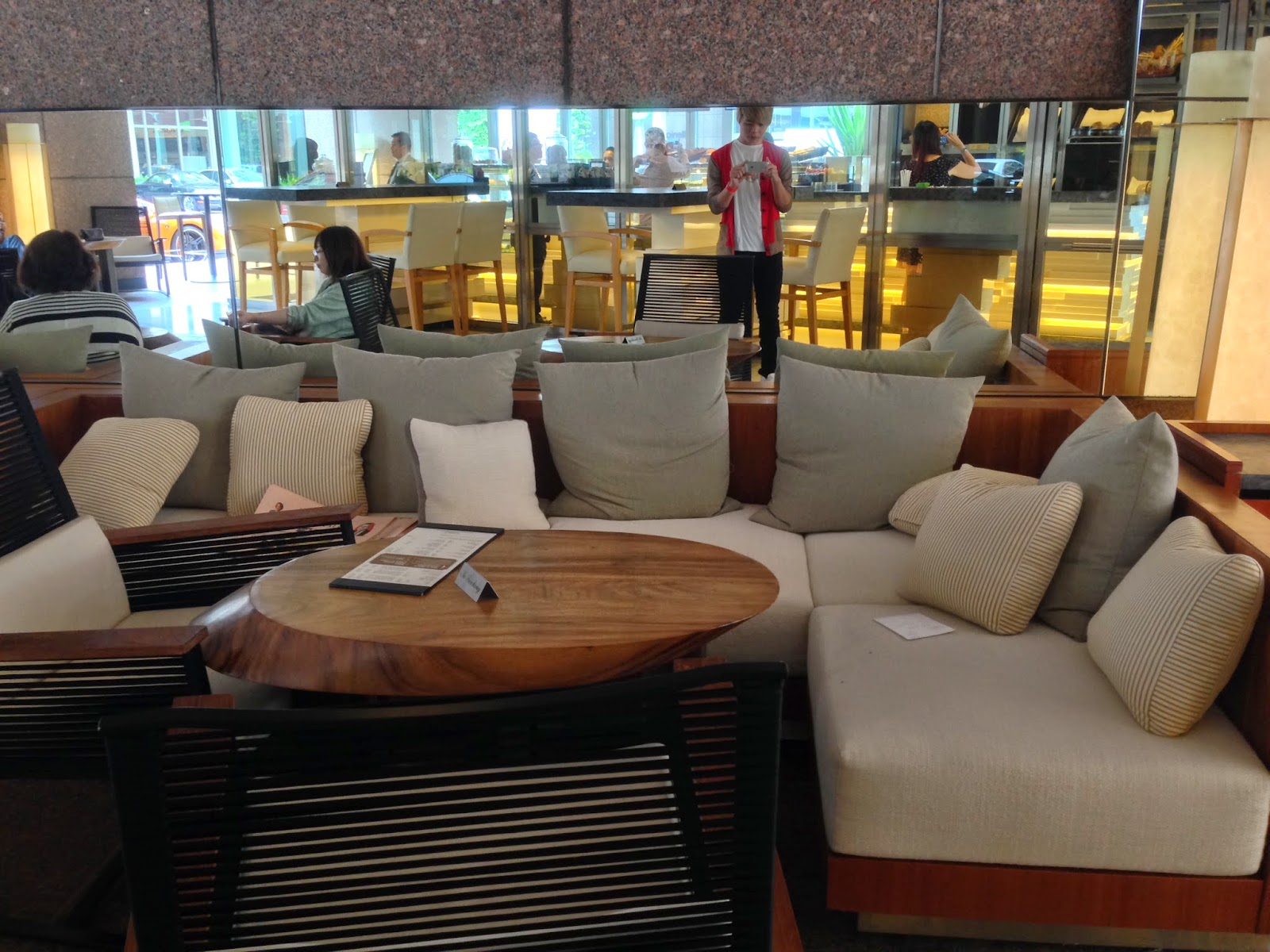 The Terrace sofa seats
