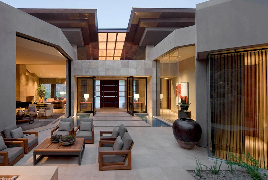 Casa de lujo en paradise valley arizona por swaback for O kitchen city of dreams