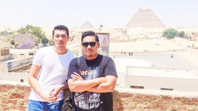 Cairo - Kaio bersama Ungku Ismail Aziz