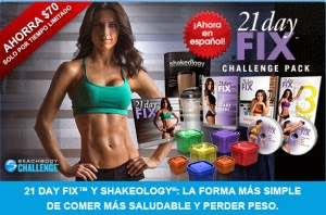 21 Day Fix Paquete Reto en Español, 21 day fix in Spanish, 21 day fix challenge pack, 21 day fix