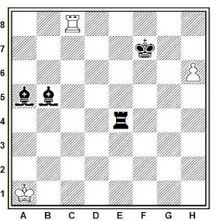 Problema ejercicio de ajedrez número 810: Estudio de G. M. Kasparian (New Statesman, 1965)
