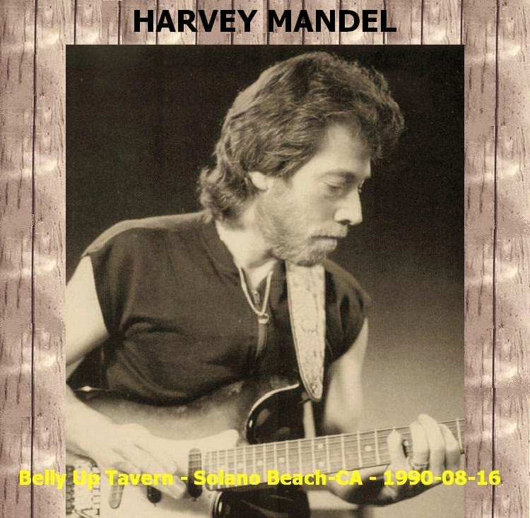 Harvey Mandel & The Snake Band - Belly Up Tavern, Solano Beach, CA - 1990-08-16 (Soundboard)