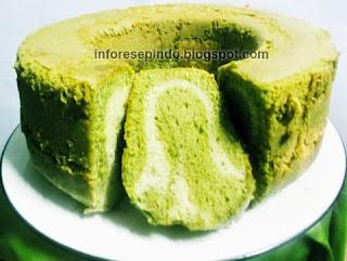 Cara Membuat Cake Green Tea Kukus Enak dan Manis