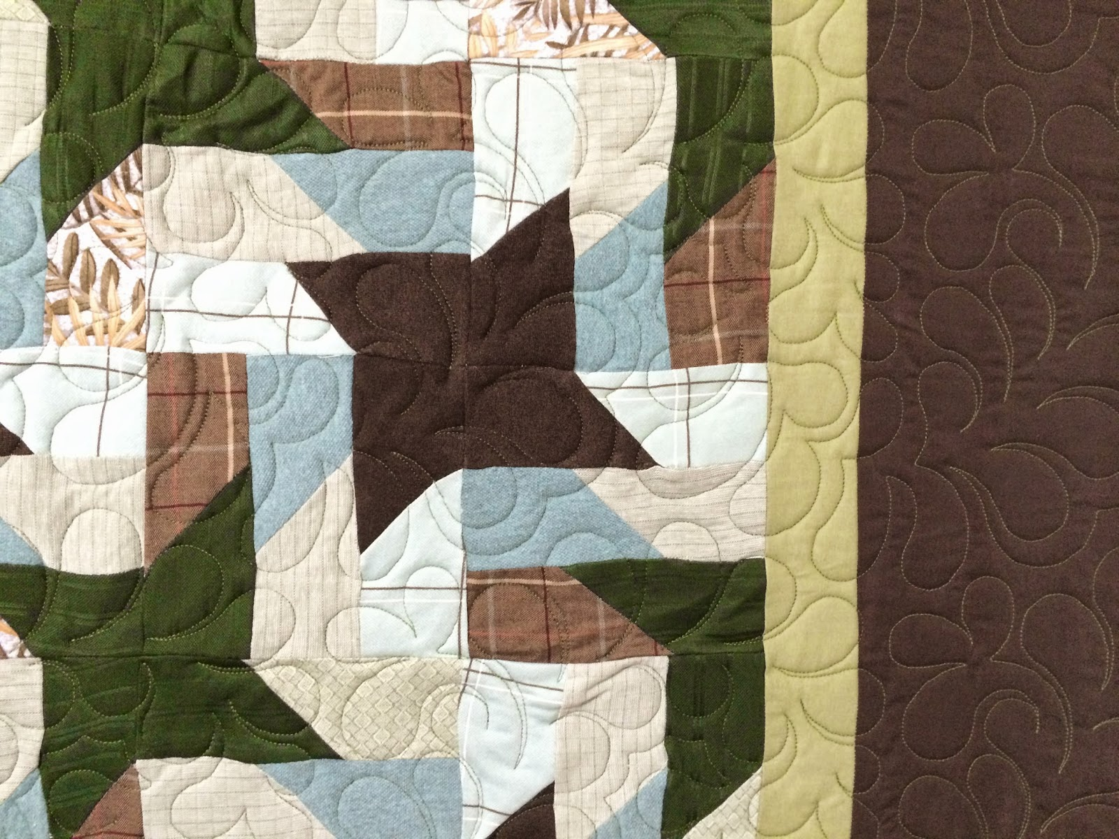 Brenda Everts's Jacob Star Quilt