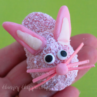 Easter bunny candy ideas