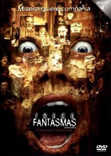 Carátula 13 Fantasmas película dvdrip latino