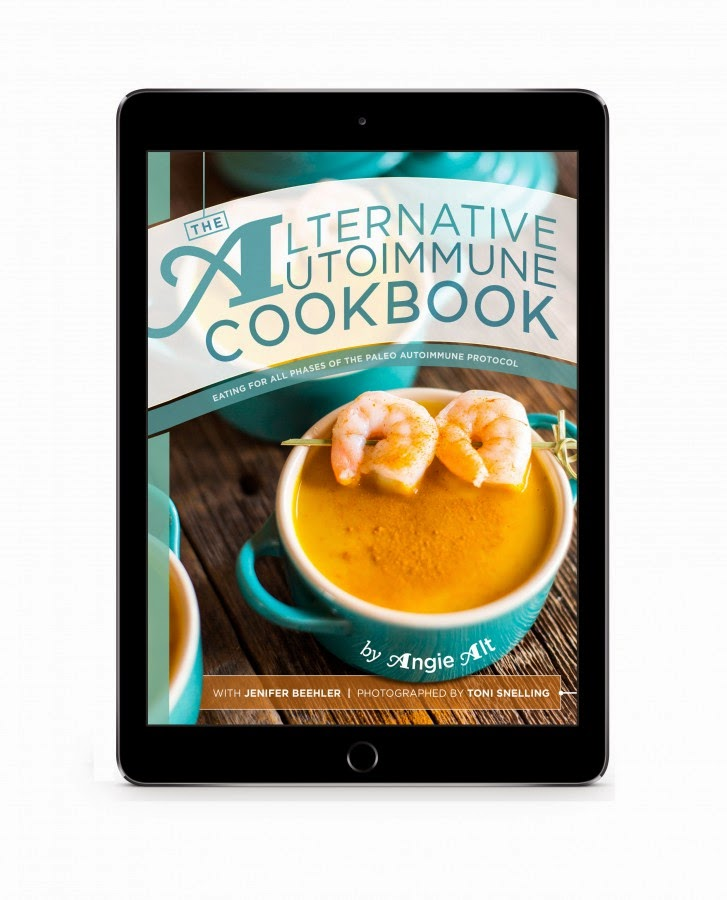 The Alternative Autoimmune Cookbook ipad photo
