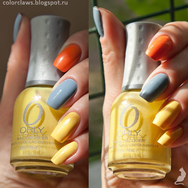 Orly Boho Bonnet + Life's a Peach + Melodious Utopia