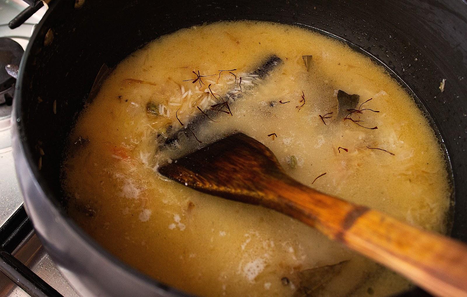 how to make prawns pulao