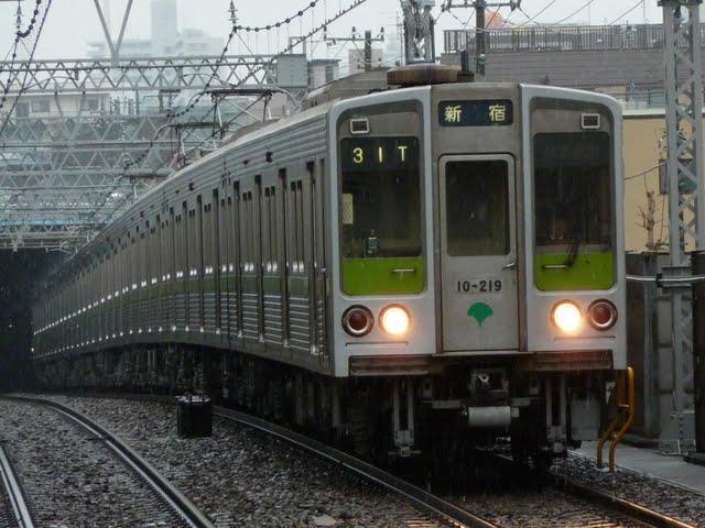 都営新宿線 各停 新宿行き1 10-000形210F