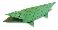 crocodile origami
