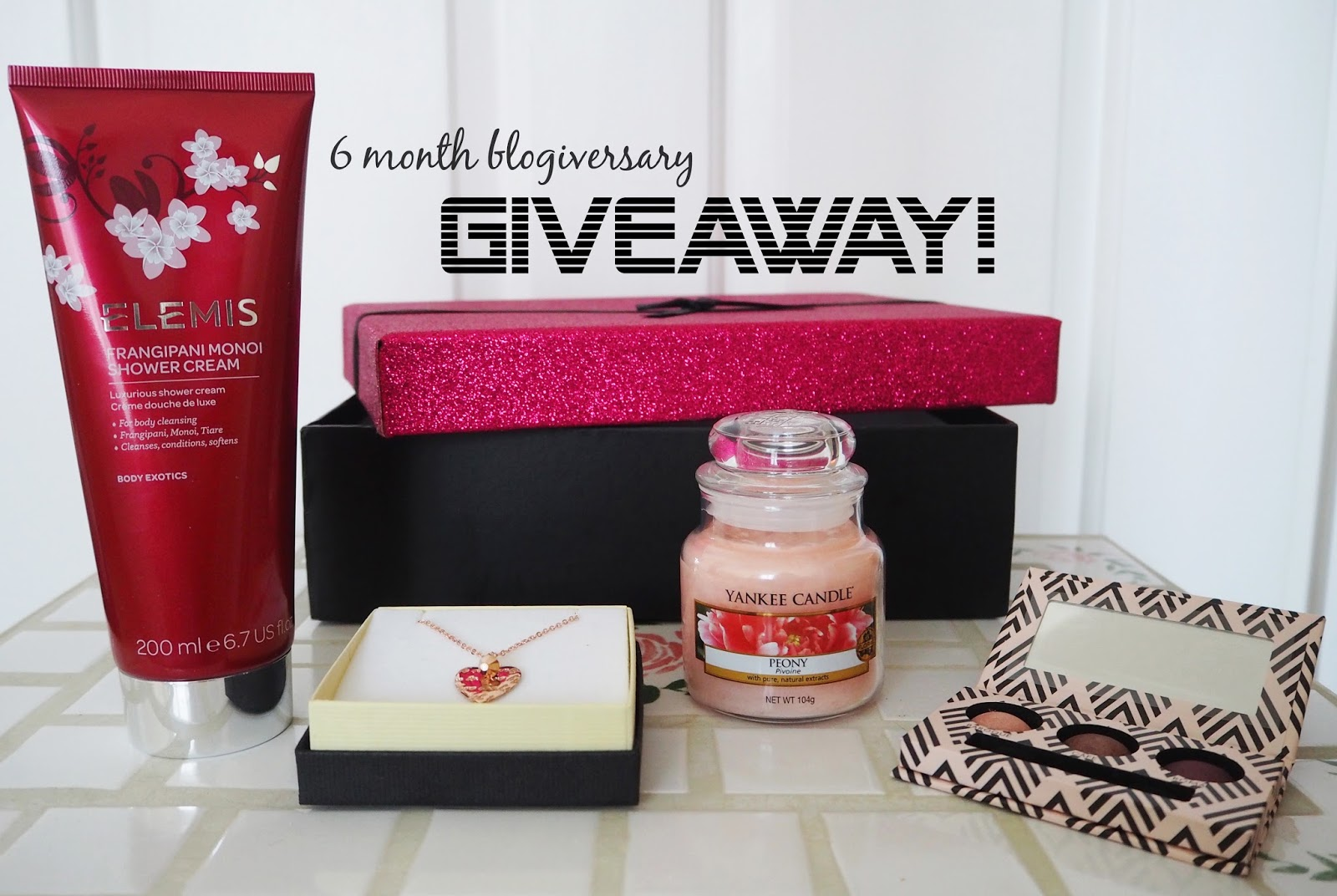 Giveaway! | Celebrating 6 Months | Katie Kirk Loves