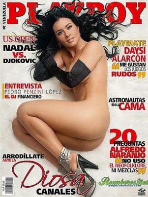 Diosa Canales Fotos Playboy Agosto 2011 de Venezuela