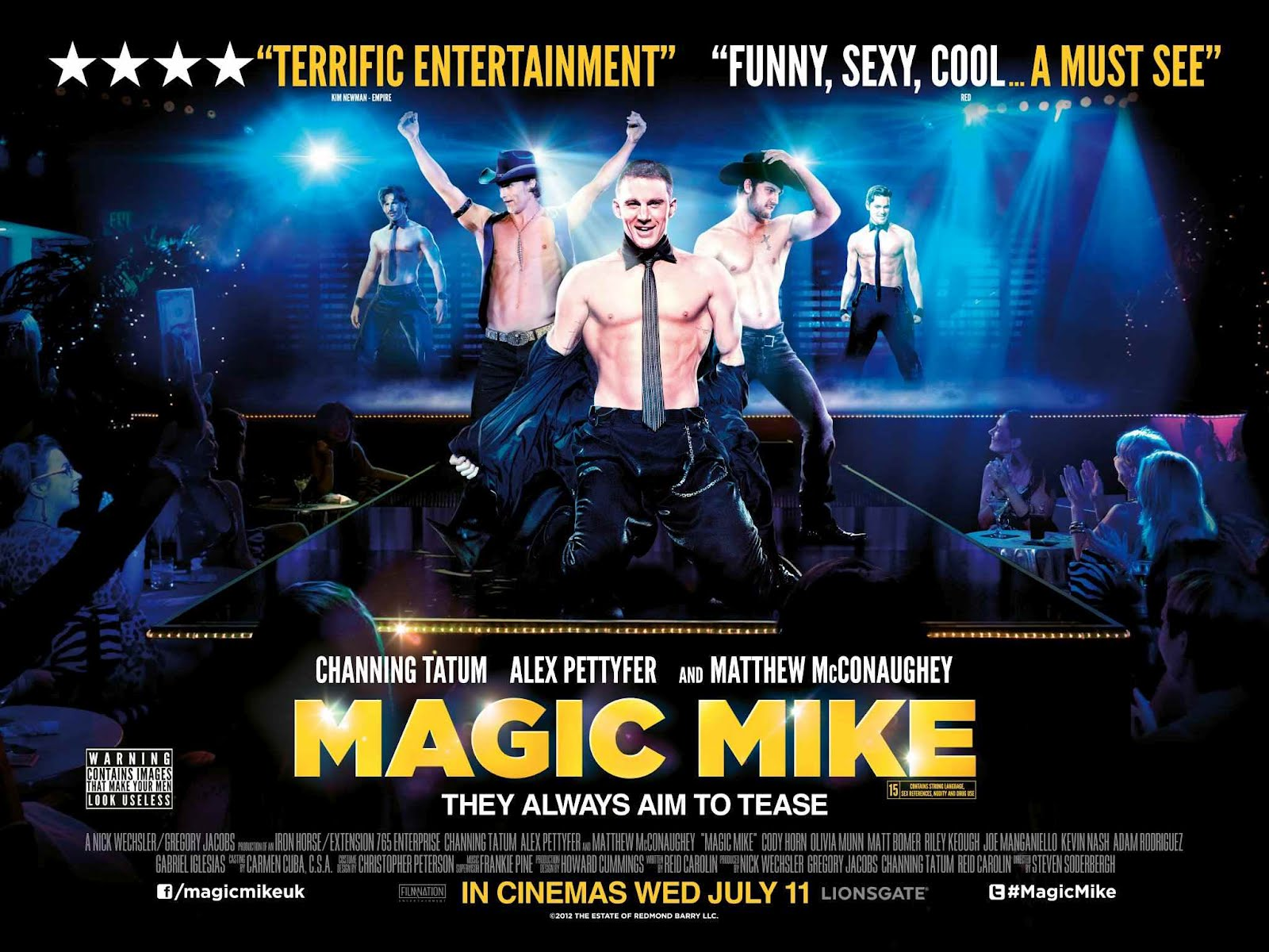 00O00 LONDON MENSWEAR BLOG MAGIC MIKE UK POSTER CHANNING TATUM LONDON PREMIERE GIORGIO ARMANI