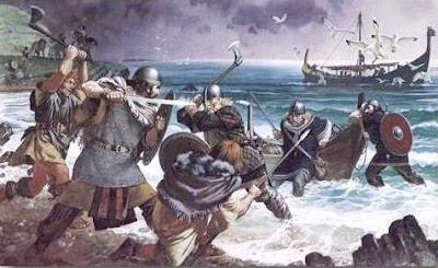 Ataque vikingo a Northumbria
