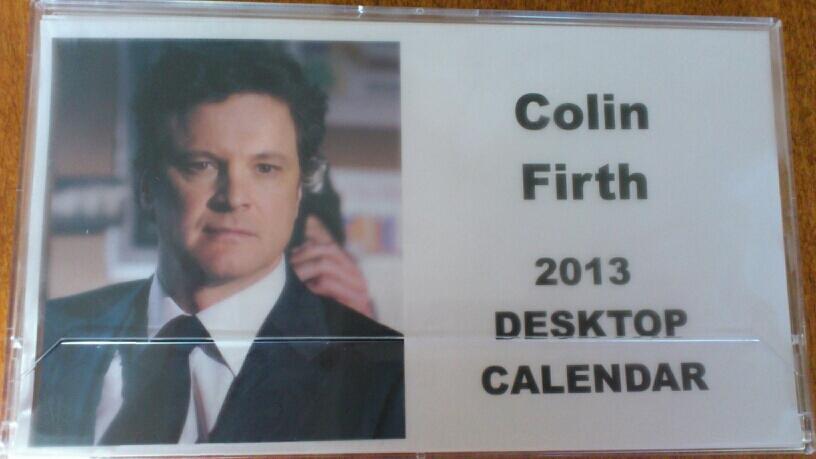 Colin Firth Diet Club:...