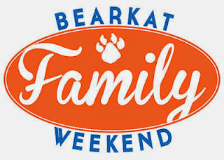 Bearkat Family Weekend Logo.