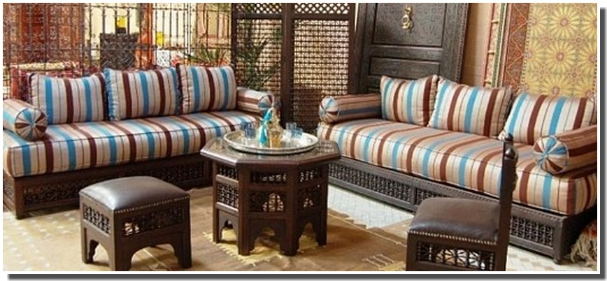 Nassima home salon marocain traditionnel - Salon marocain tres chic ...