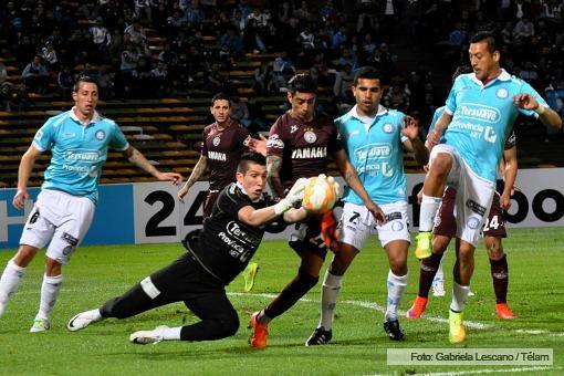 belgrano de cordoba lanus - partido de ida copa sudamericana 2015