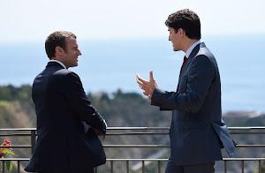 Macron, Trudeau 'bromance' fires up internet