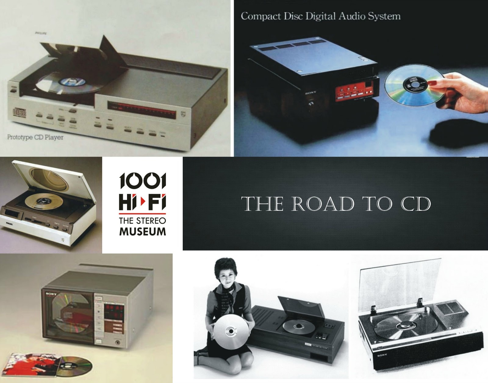the road to cd prototypes the stereo museum. Black Bedroom Furniture Sets. Home Design Ideas