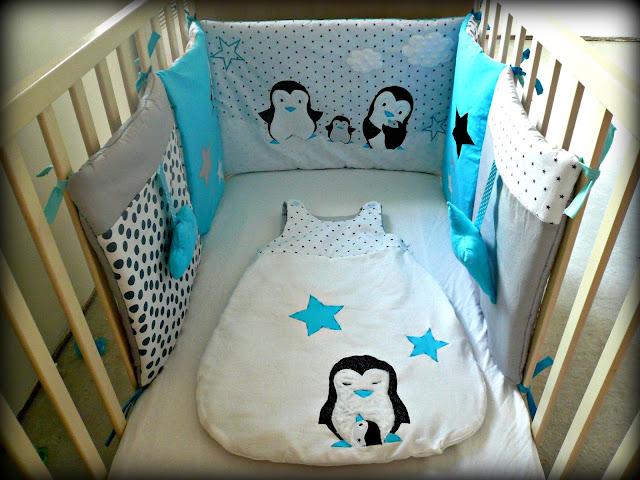Mes petites cr as - Tour de lit bebe fait maison ...