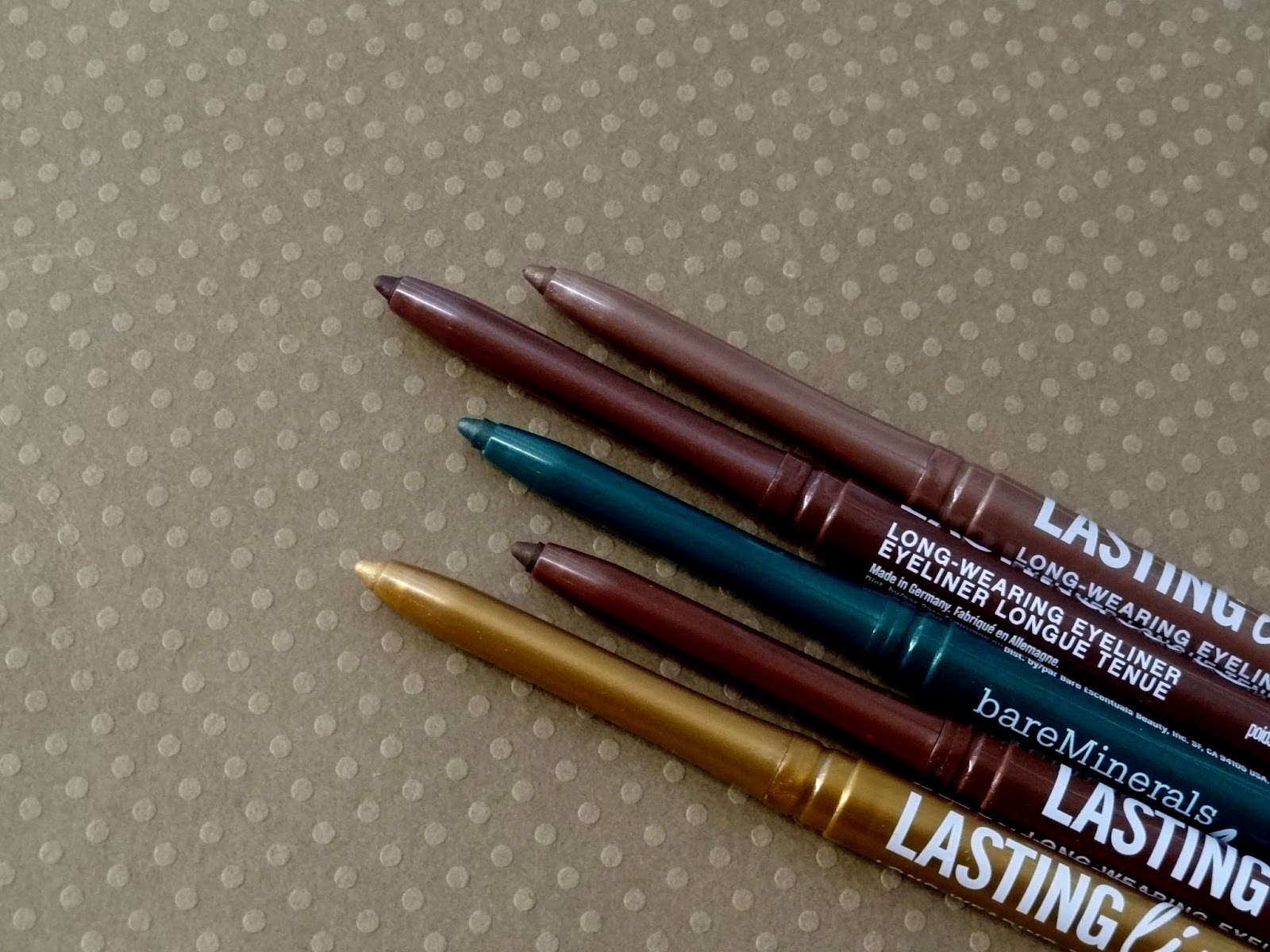 bareminerals afternoon delights lasting line eyeliner set review, photos & swatches