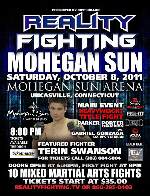 Terin Swanson Reality Fighting Poster
