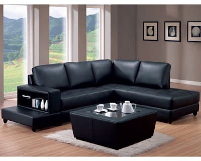 Living room designs black living room furniture living for Living room ideas with black leather sofa