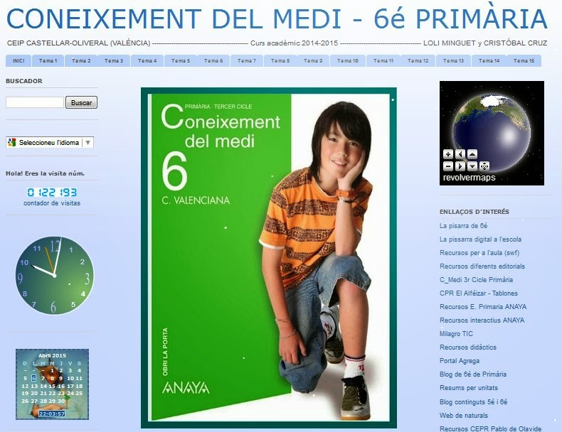http://coneixementcmedi6primaria.blogspot.com.es/