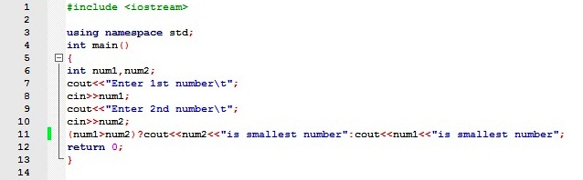 conditional operator in c++ pdf