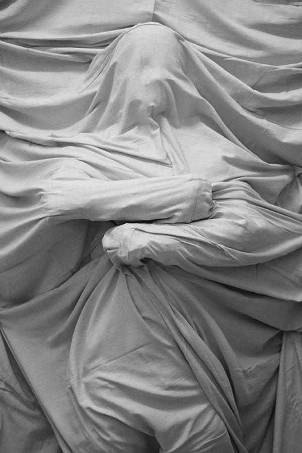 Bound Figure Installation By Daniel Arsham