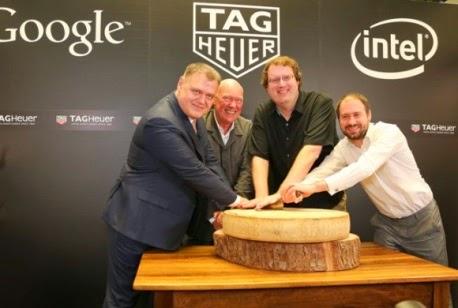 Η TAG Heuer συμμάχησε μαζί με την Intel και τη Google  με στόχο να αντεπιτεθούν στο ρολόι της Apple.