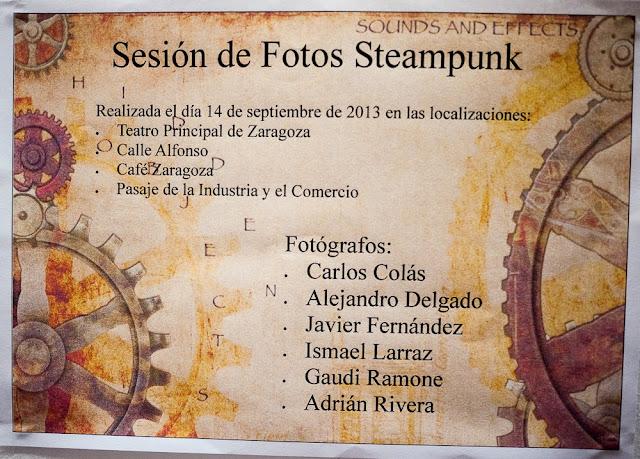 Steampunk Zaragoza 2013, retrofuturismo en el Tunel