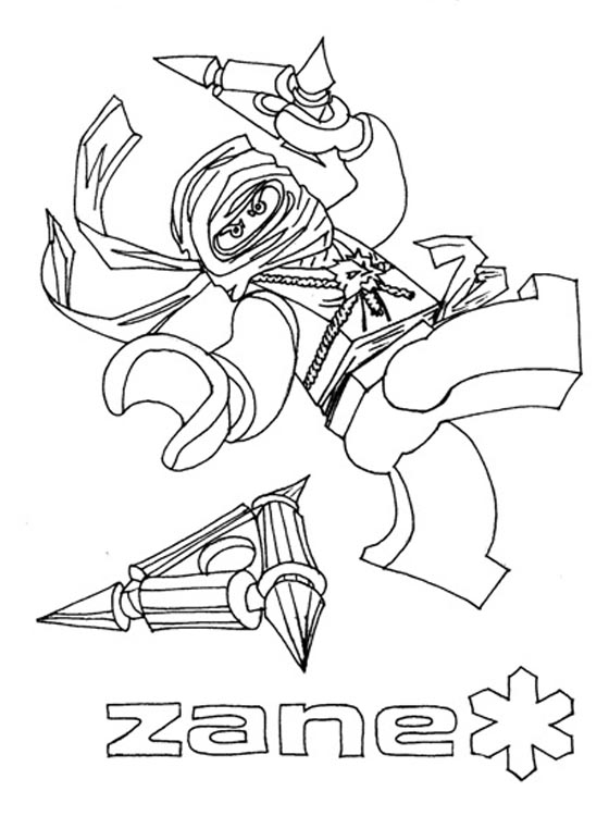 zane ninjago coloring pages - photo#7